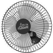 Ventilador de Parede 50 Cm Preto Bivolt Venti-Delta Preto 71-5425