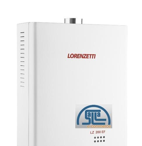 Aquecedor De Agua A Gas Lorenzetti