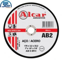 Disco Corte de Ferro 7 '' Ab2 Alcar