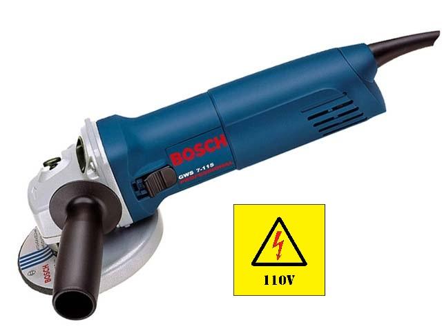 Esmerilhadeira 4 1/2 1388 Gws 7-115 720w Bosch 110w