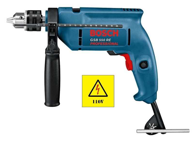 Furadeira Impacto GSB 550 RE 127v Bosch