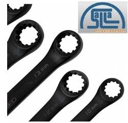 Jogo De Chaves Speedy X6 Milimetros 7pc Black Belzer