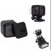 Kit GoPro Session Película ,Protetor Lente, adaptador  J Hook