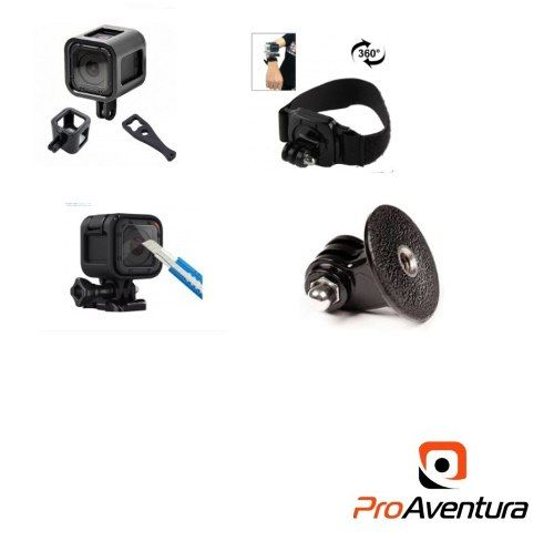 Kit Gopro Sessio Pelicula Frame Adaptador E Pulso 360