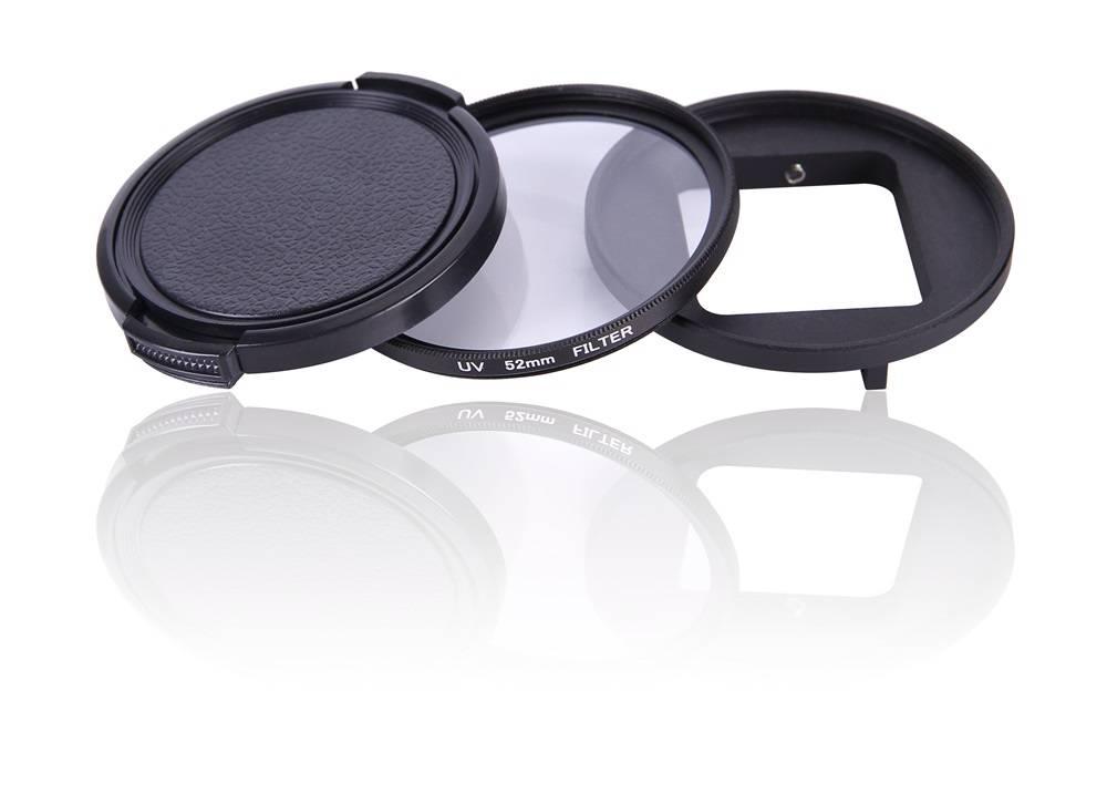 Acessório GoPro Lente UV 52mm filtro tampa  GoPro 5,6