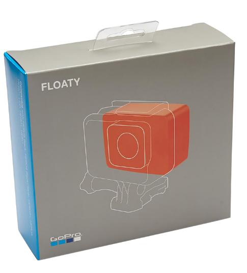 Boia Flutuante + Tampa Traseira Original Floaty AFLTY-004 Backdoor para Câmeras GoPro 23456