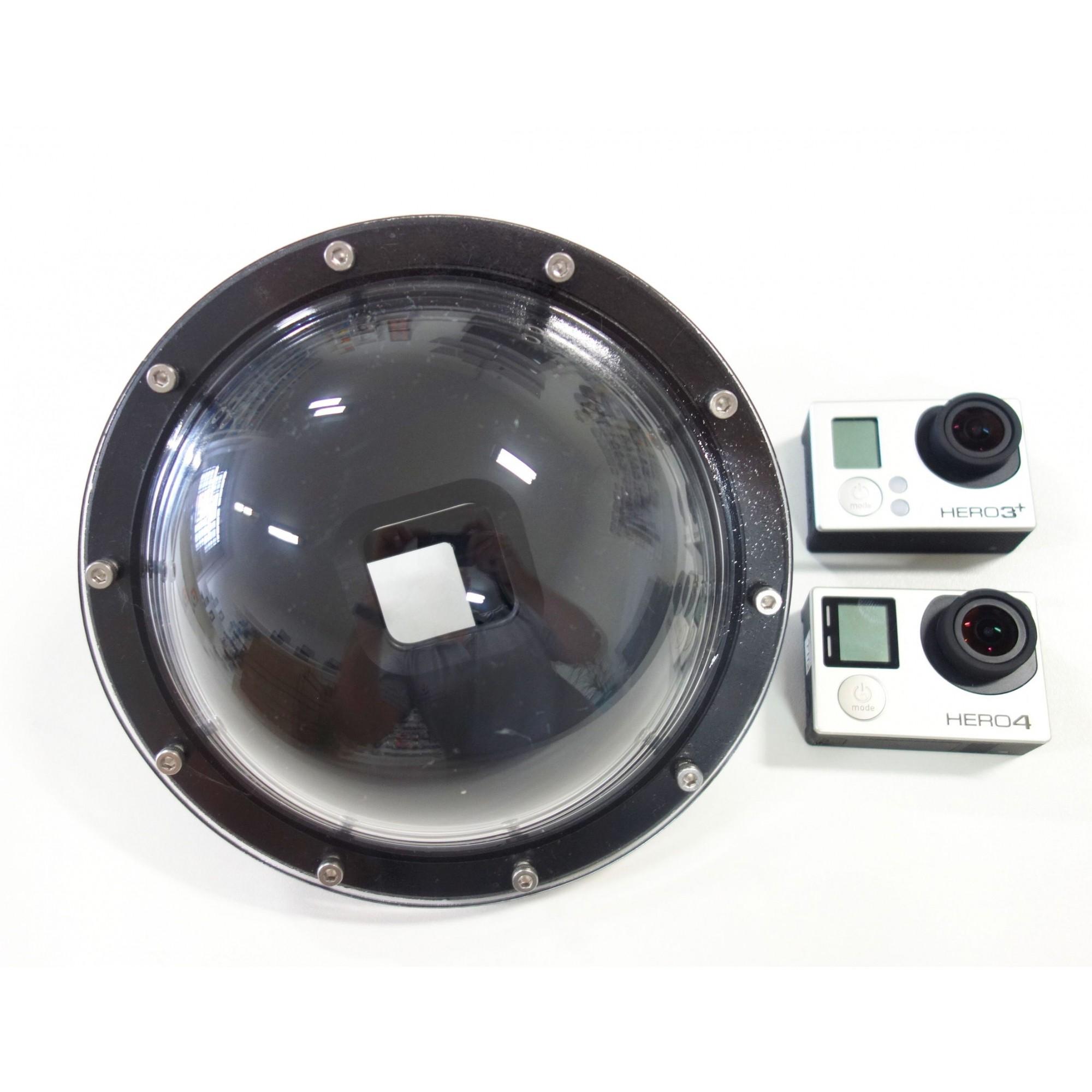 Dome Acryflon 6' Para GoPro 3+/4