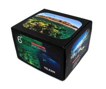 Dome Telesin 6' com estanque , bastão e  gatilho Hero 5/6 Black