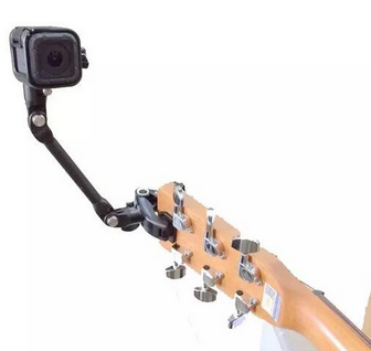 Gopro Suporte Bateria Guitarra Violao The Jam Hero 2,3,4