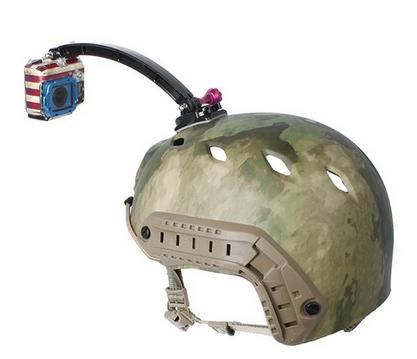 Gopro Acessório Bike Moto Capacete Braço Helmet Extensor Para Hero 2/3/4