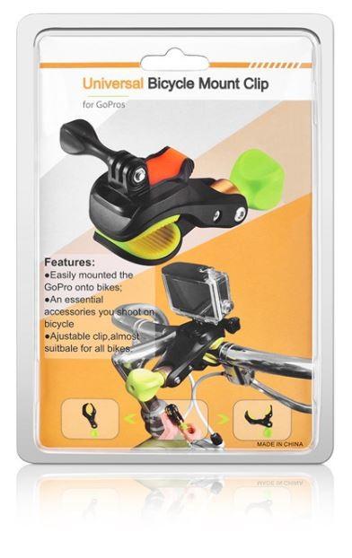 Gopro Acessório Suporte Garra Bike Moto Hero