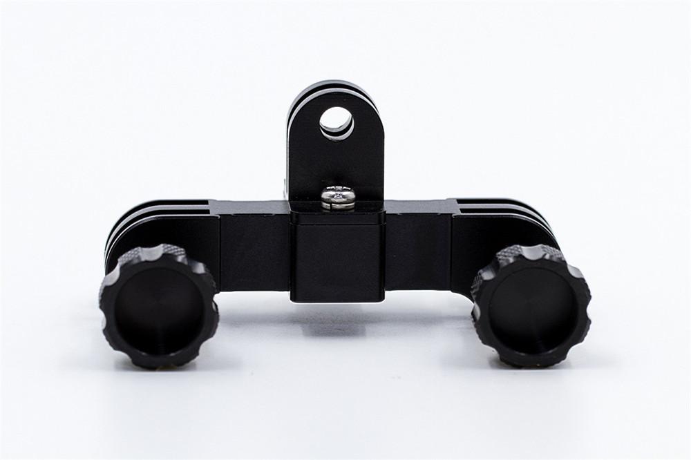 Gopro Adaptador e Suporte Duplo Para Duas Cameras Aluminio GoPro 2/3/3+/4