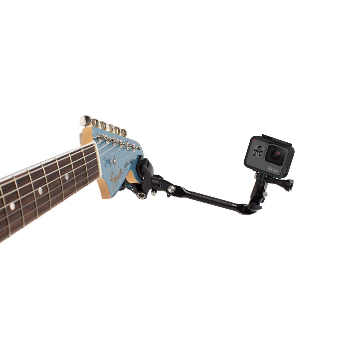 GoPro AMCLP-001 Suporte guitarra The Jam Original bateria ajustável para instrumentos musicais