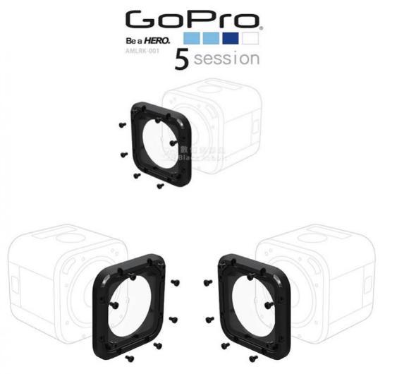 GoPro Original AMLRK-001 Kit para Substituição de Lente Proteção Session 5