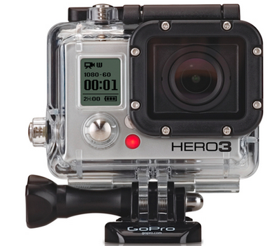 GoPro Kit Bóia + Backdoor Tampa para Hero 3