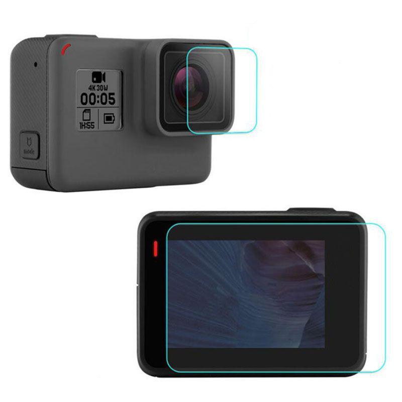 Películas de Vidro para GoPro 5 e 6 Black