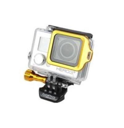 Proteção Metálico Anel  Hero 3+/4 - Amarelo
