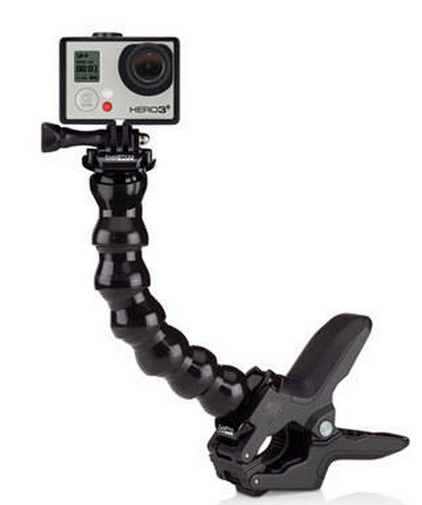 Suporte Flexível Garra Jaws Flex Clamp Mount Acmpm-001 Hero 2,3,4,5,6