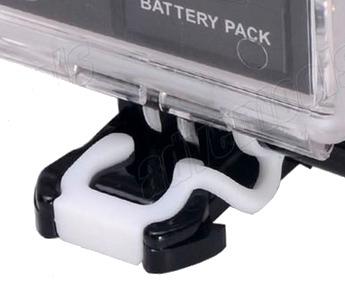 Trava Vedação Anti-shock Vibração Trava Gopro Hero Silicone Rubber