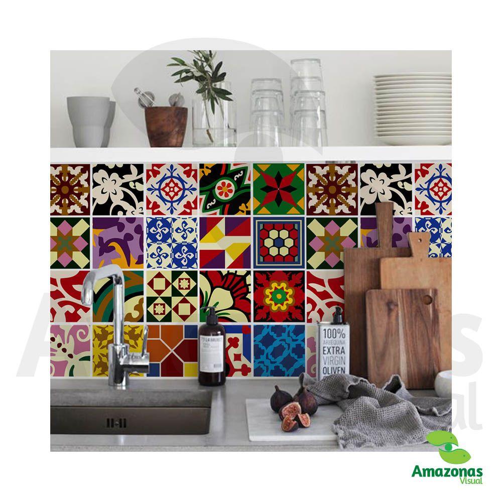 Adesivo azulejo para Cozinha