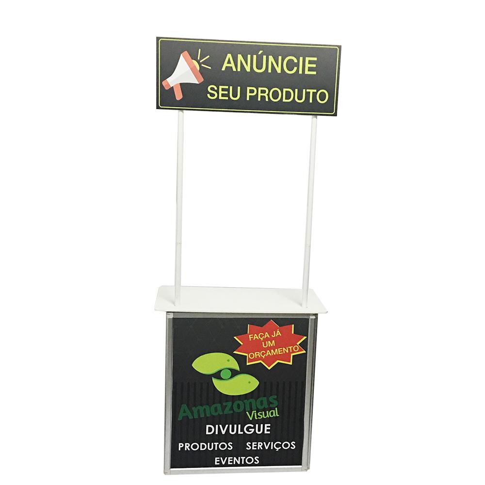 Balcão PDV para exposição e/ou degustação.