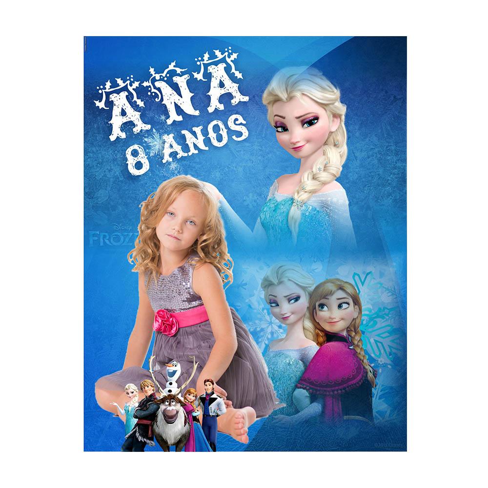 Banner Aniversário Frozen