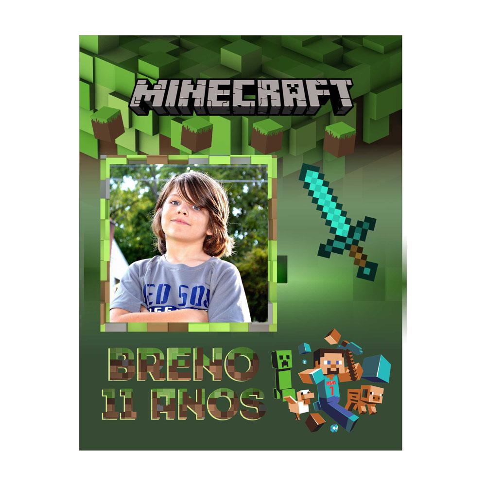 Banner Aniversário Minecraft