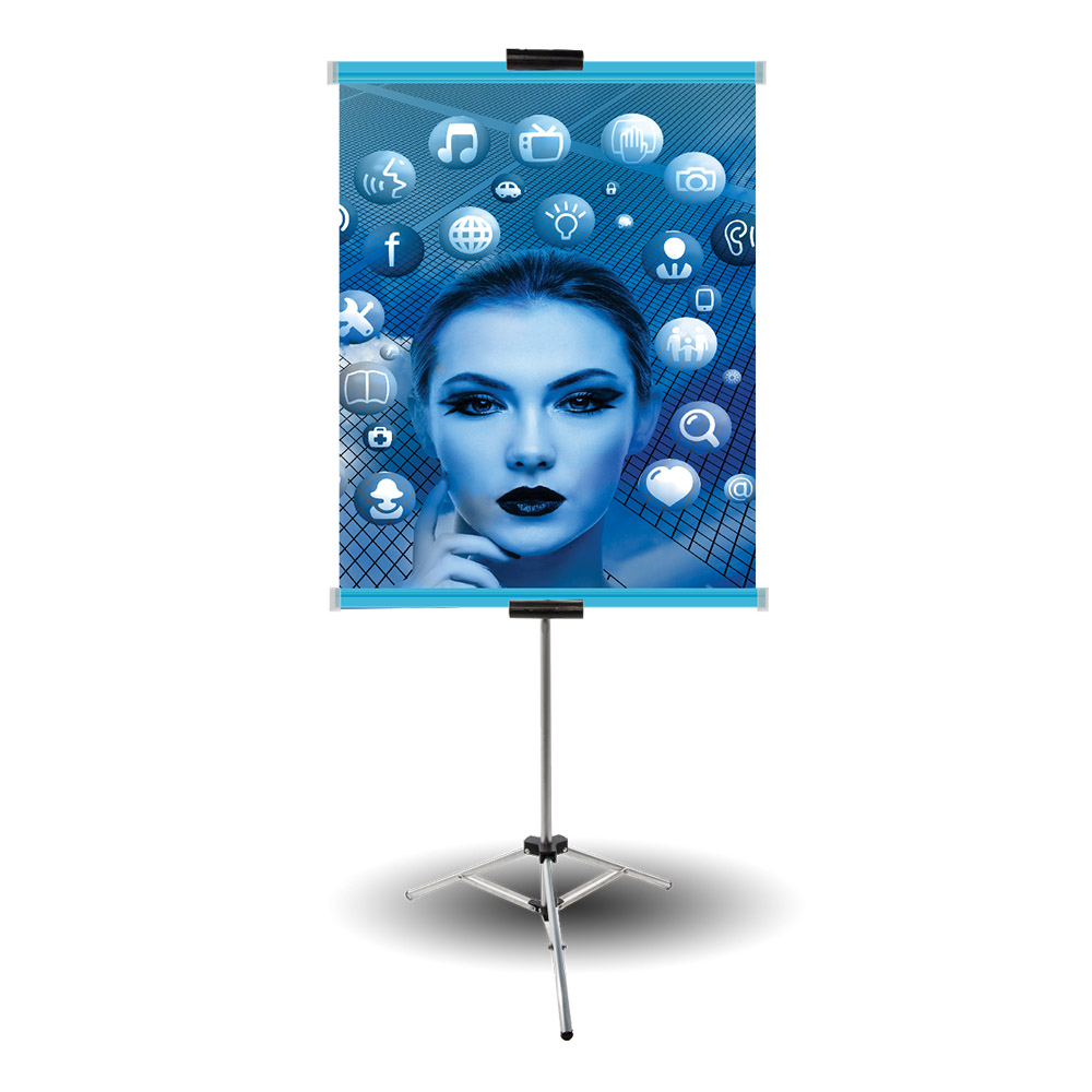Banner com Perfil Prende Fácil Azul