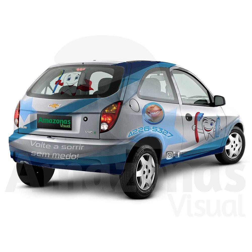 Carro Pequeno Porte Envelopado por Completo