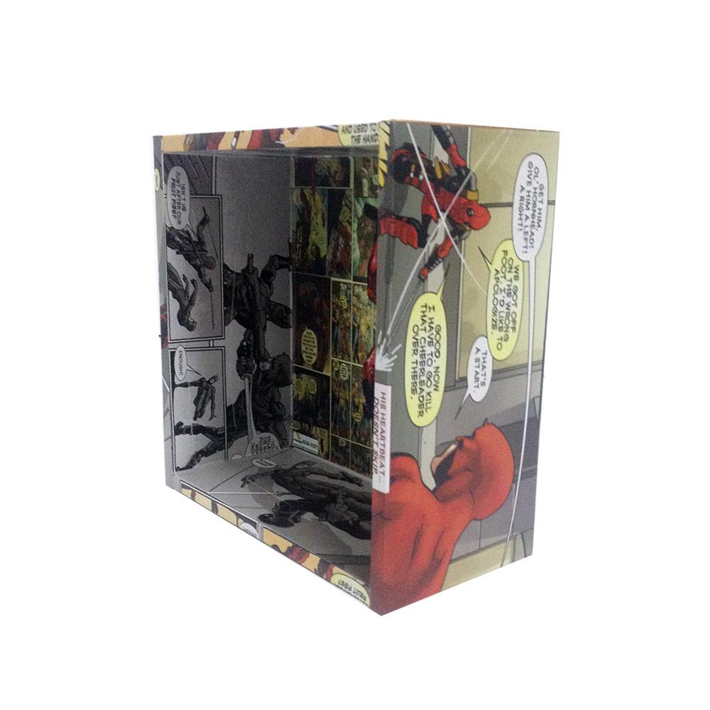 Nicho com Adesivo Impressão Digital Deadpool
