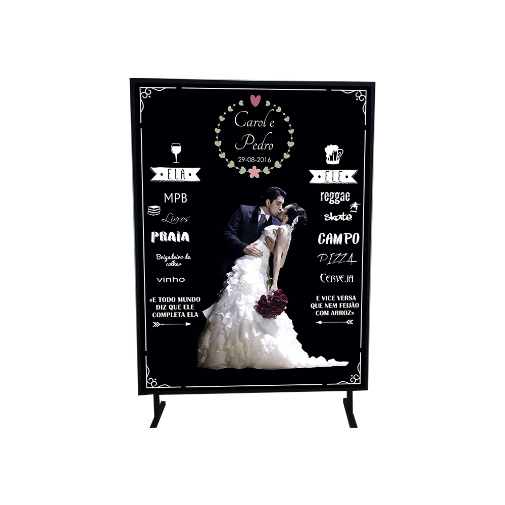 Painel Backdrop para Casamentos