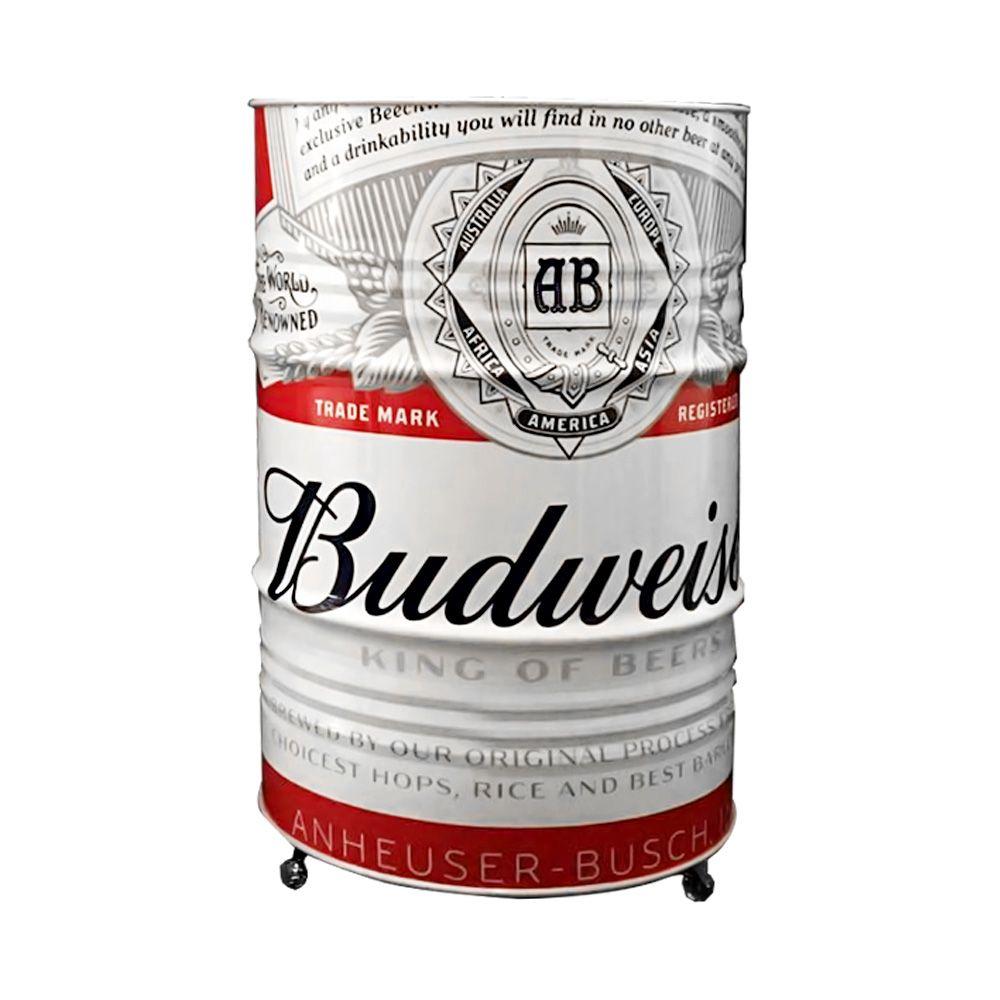Tambor decorativo personalizado Budweiser