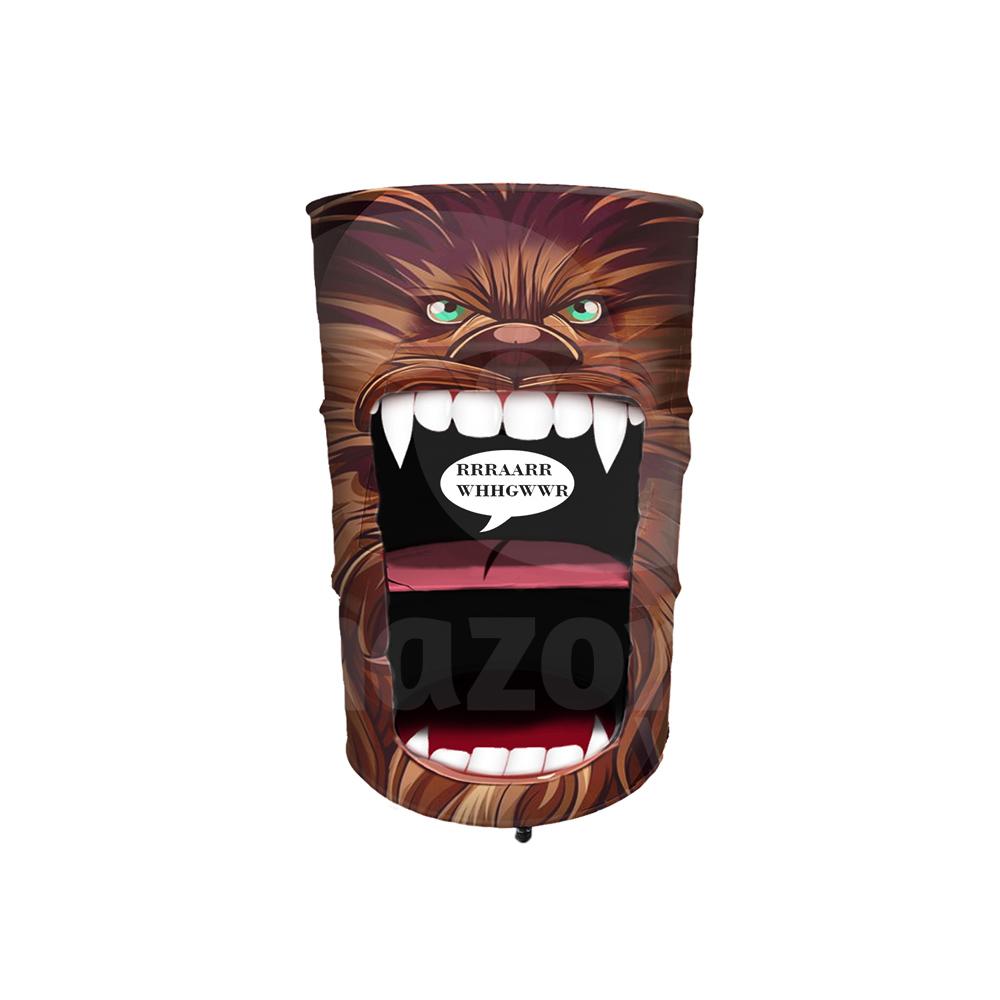 Tambor decorativo personalizado Chewbacca