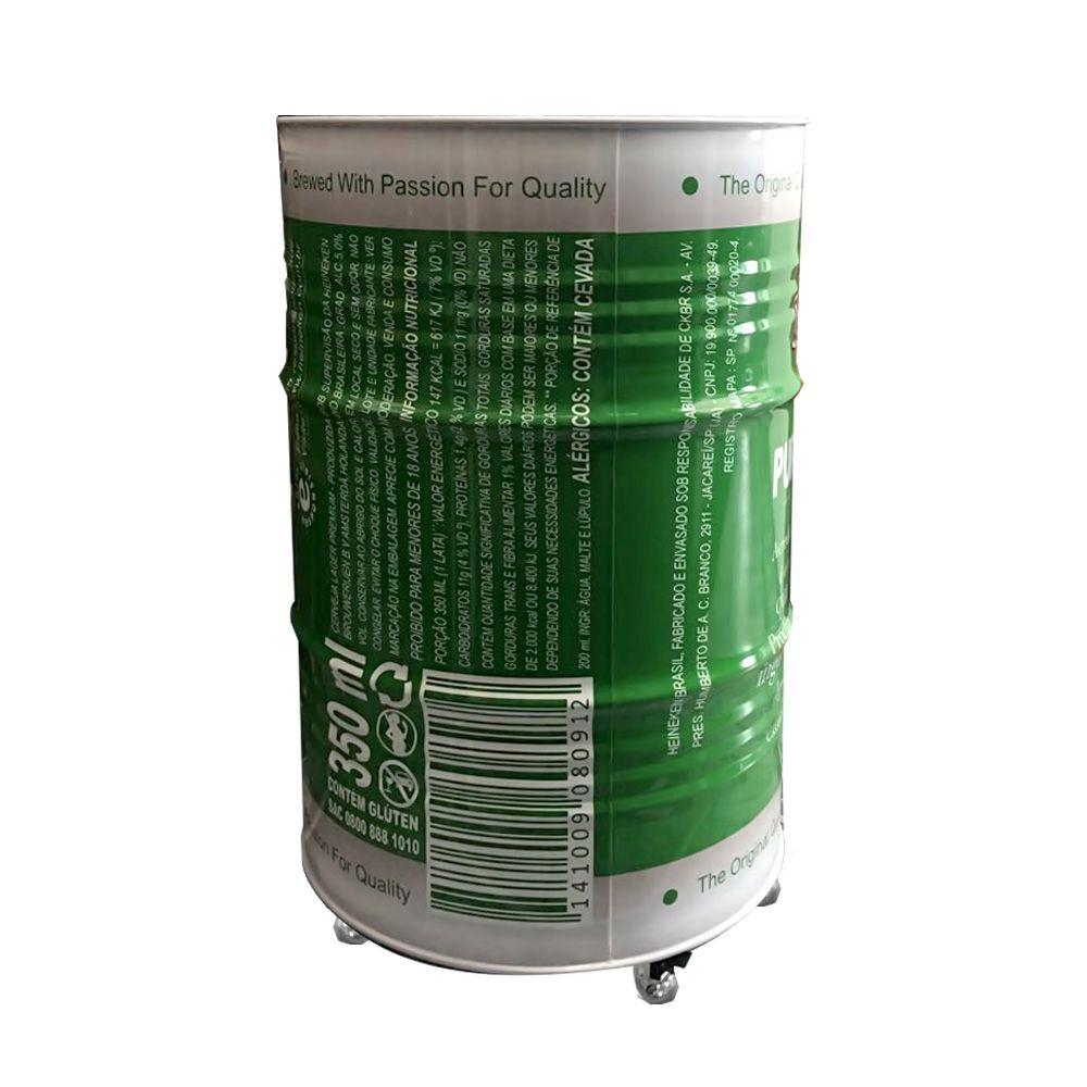 Tambor decorativo personalizado Heineken