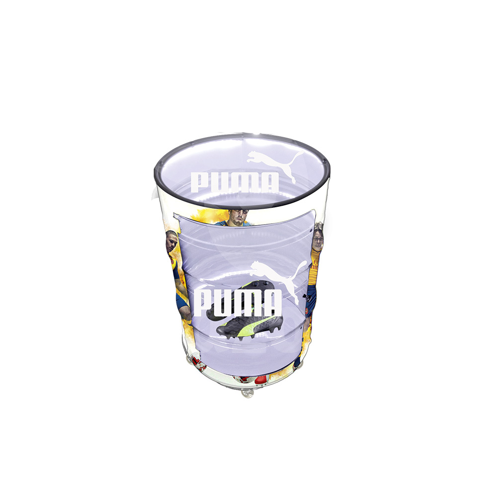 Tambor decorativo personalizado Puma