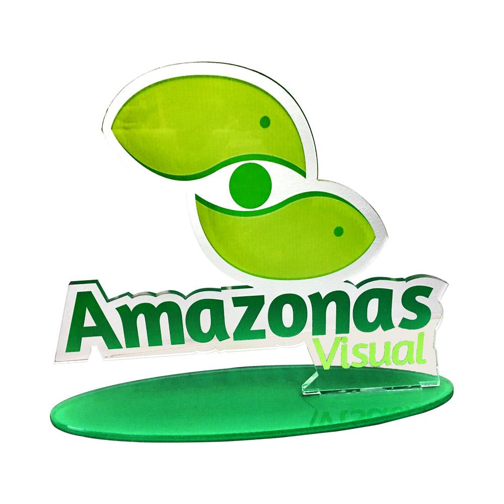 Troféu em Acrílico Amazonas
