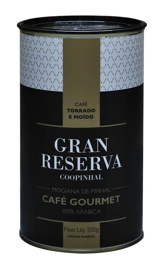 Gran Reserva Gourmet 500g - Torrado e Moído - 100% Arábica