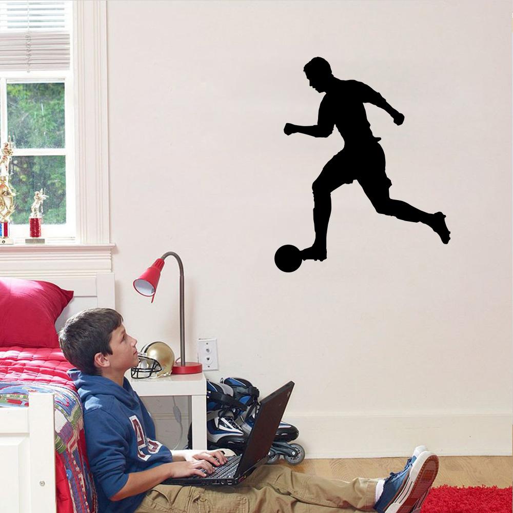 Armario Sinonimo De Arca ~ Adesivo Decorativo de Parede Esporte Jogador de Futebol SHOP ADESIVOS
