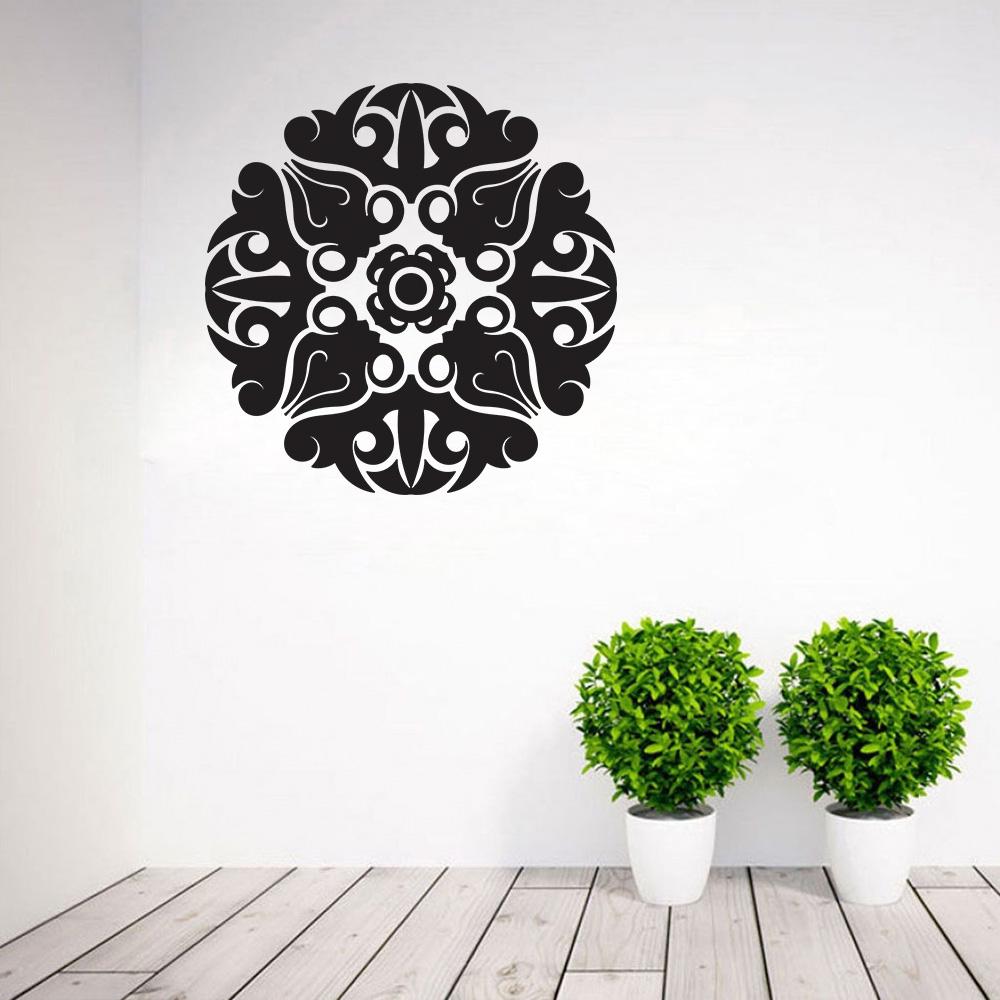 Armario Planejado Para Quarto Casal ~ Adesivo Decorativo de Parede Mandala 4 SHOP ADESIVOS