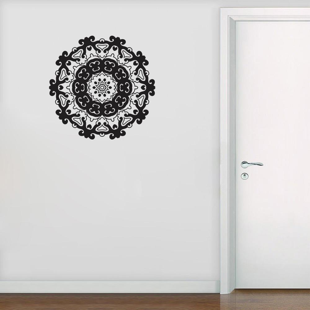 Armario Planejado Para Quarto Casal ~ Adesivo Decorativo de Parede Mandala 9 SHOP ADESIVOS