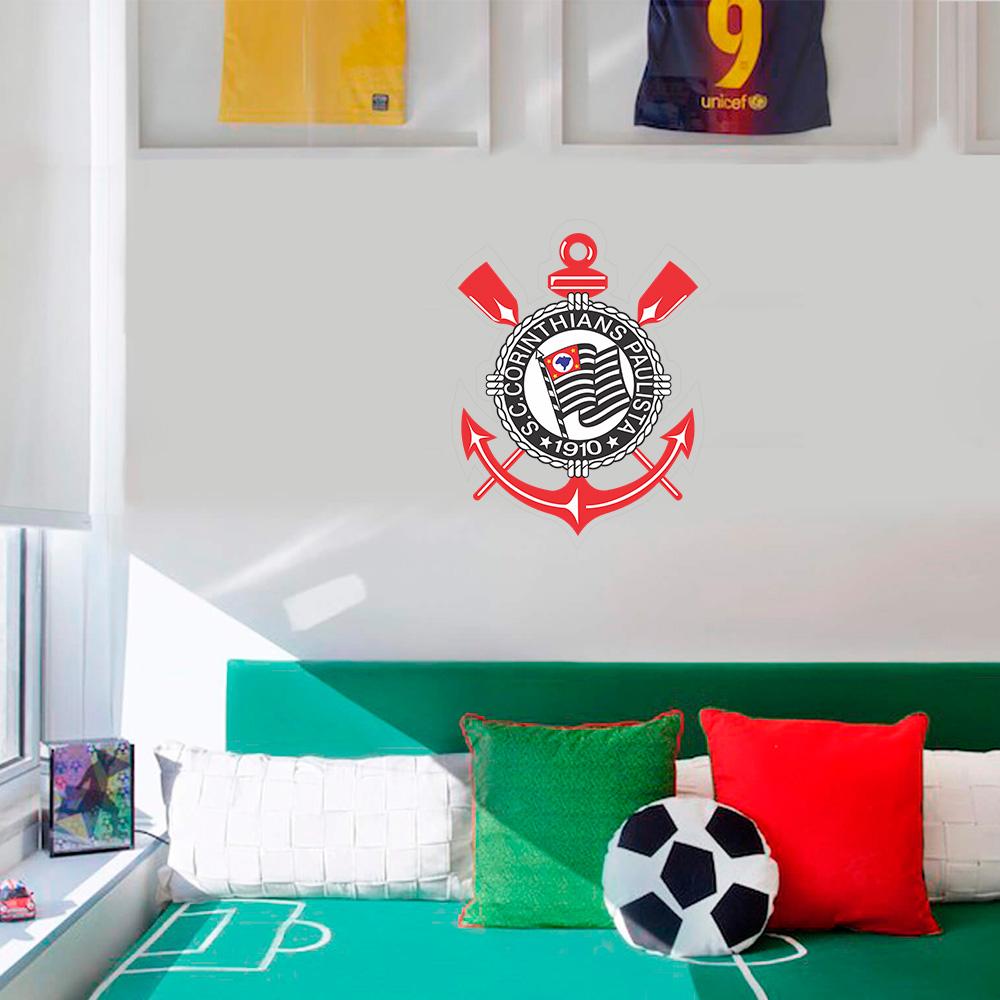 Aparador Vintage ~ Adesivo Decorativo de Parede Time Corinthians SHOP ADESIVOS