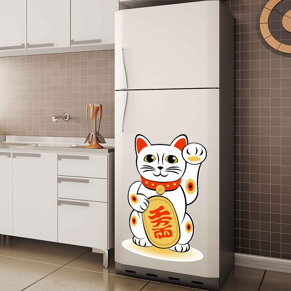 Adesivo De Gato Para Geladeira ~ Adesivo Decorativo Geladeira Gato Jaon u00eas SHOP ADESIVOS
