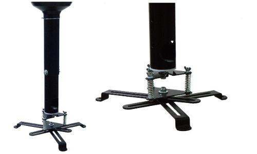 Suporte Universal De Teto P/ Projetor C/ Extensor 35 À 55cm
