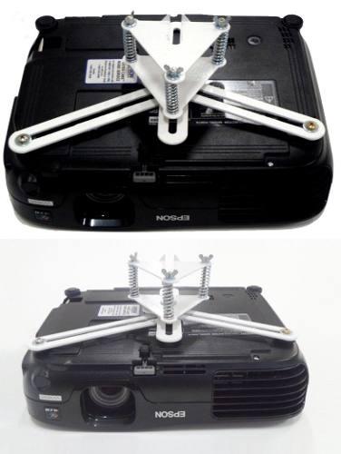 Suporte Projetor Universal De Teto Branco-epson Sony Optoma