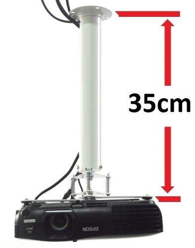 Suporte Projetor Data Show Fixação Teto / Parede 30cm X 25cm