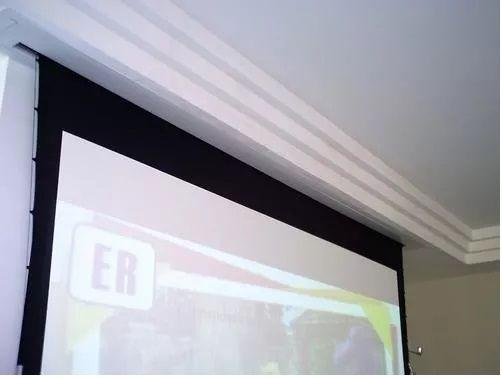 Molduras De Acabamento  P/ Telas De Projeção 100'' Video 4:3