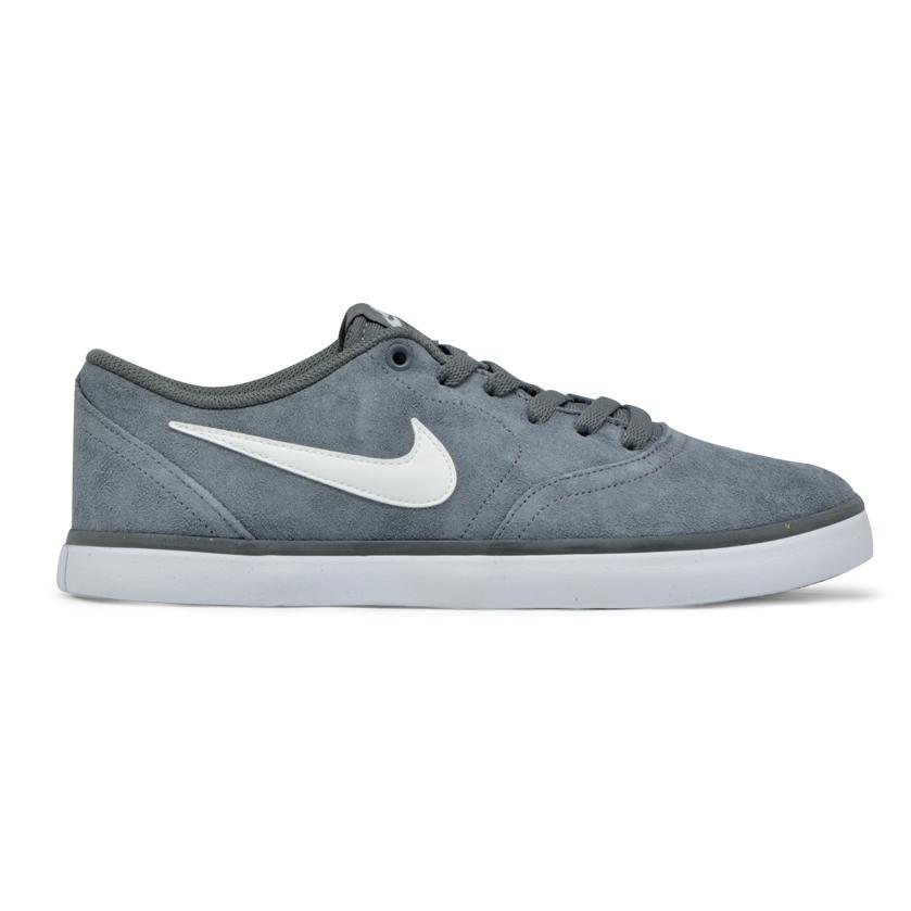 e1e5f37075 Tênis Nike Sb Check Solar Cinza Branco - Via Skate Shop ...