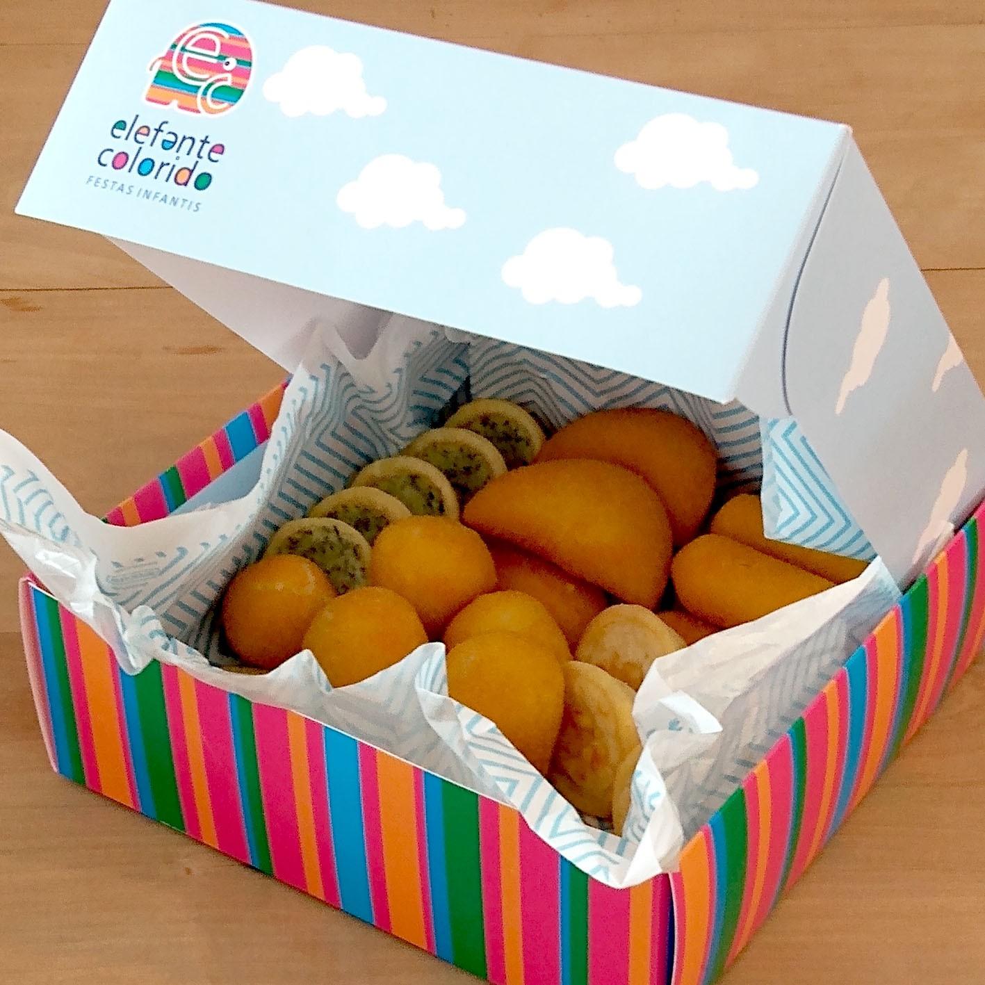 Kit festa na caixa para presente