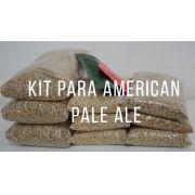 KIT para produção de 20 litros de cerveja do estilo American Pale ale APA
