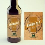 KIT para produção de 20 litros de cerveja do estilo American Brown Ale